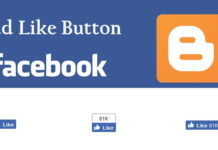 How To Add Facebook Like Button To Blogger Posts