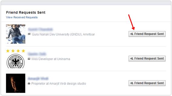 Cara Membatalkan Permintaan Pertemanan di Facebook Yang Telah Terkirim