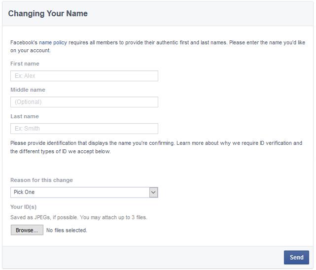 change facebook name after limit 2017, change facebook name trick