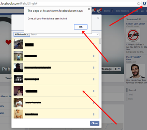 suggest all facebook friend chrome extension