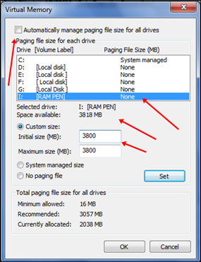 How To Use Pendrive As Ram In Windows Xp 7 8 10 Safe Tricks