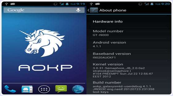 AOKP ROM (Android Open Kang Project)
