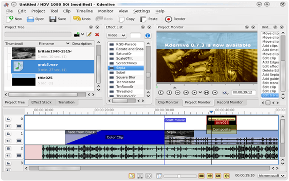 best video editing software for windows 7 32-bit iso