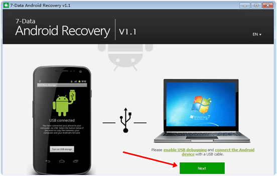 7-data android recovery software