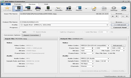 AVS Media Converter for windows pc