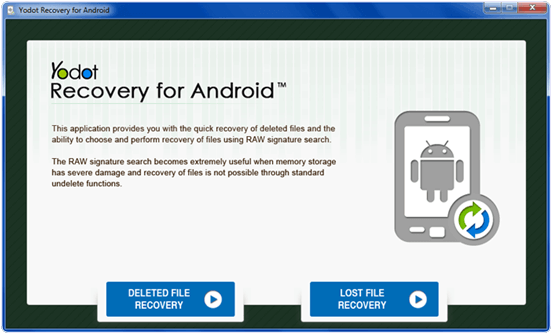 Yodot Recovery for android phone