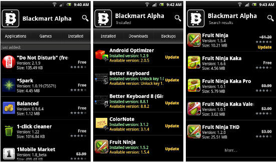 blackmart alpha app features