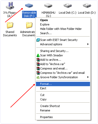 how to format my drive to fat 32