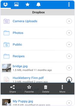 dropbox app preview