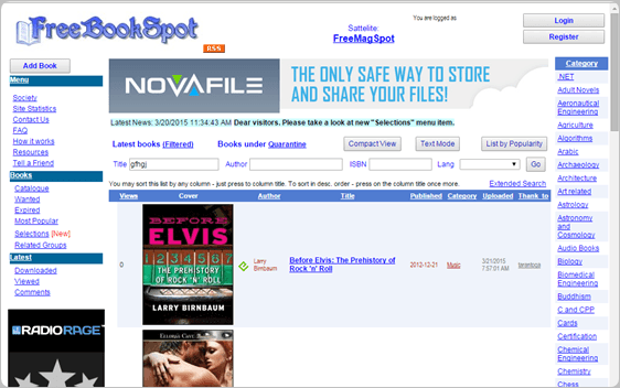 FreeBookSpot.es download free ebooks