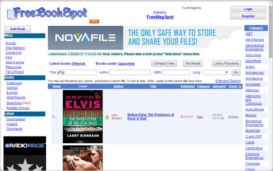 FreeBookSpot.es download free ebooks