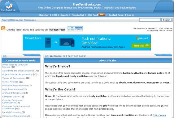 FreeTechBooks.com download free ebooks