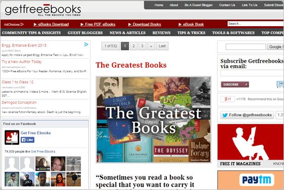 5 Website Terbaik Untuk Download E-book Gratis