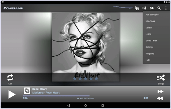 android Poweramp Music Player