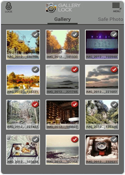 android Safe Gallery app