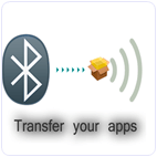 Android Bluetooth App Sender app