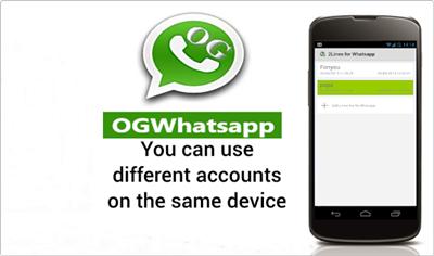 Dual Whatsapp By Using OG WhatsApp