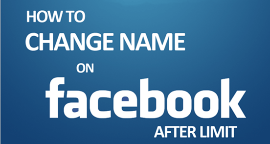 Change Facebook Profile Name Before 60 Days Limit