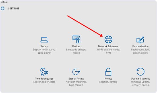 Stop Windows 10 update settings
