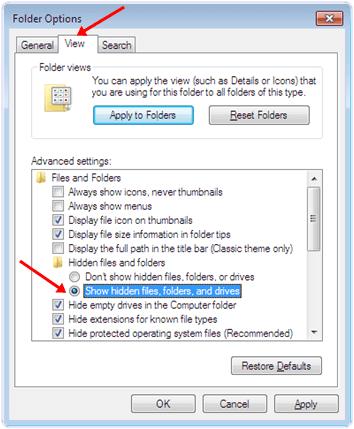 Cara Buka File & Folder yang Di Hidden Pada Flashdisk