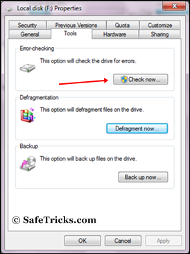 windows error checking tools