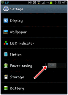 Android stop unwanted apps settings