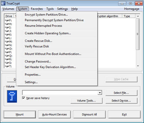 truecrypt usb encryption software