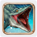 Jurassic Dino Water world Android under water Games