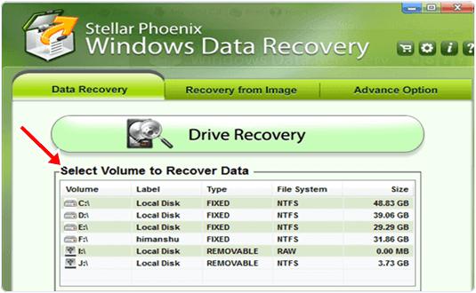 stellar phoenix data recovery feature
