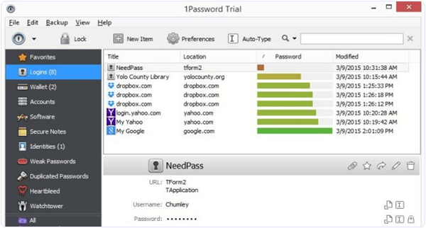 1Password PC Software