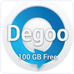 100GB Free Backup Cloud Degoo Android App