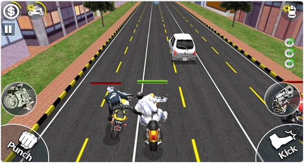 Bike Attack Race Android Game
