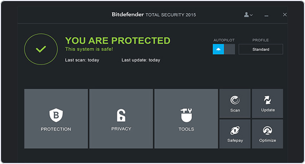 Bit Defender Total Security PC Antivirus