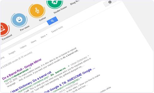 Google Barrel Roll