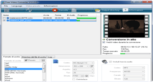 Koyote Free Video Converter Windows Software