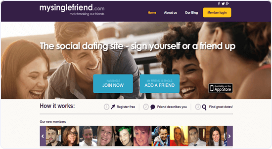 Mysinglefriend. online társkereső, ahol barátai írnak
