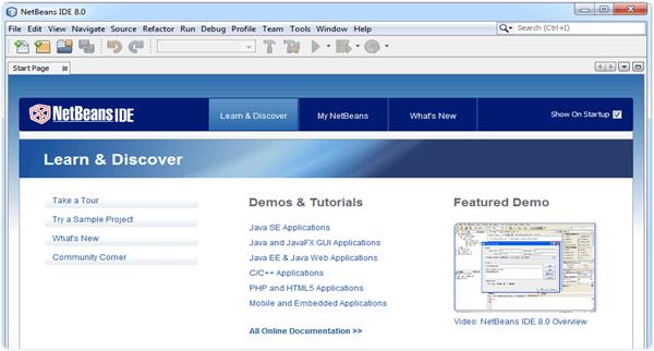 NetBeans 8.0 PC software