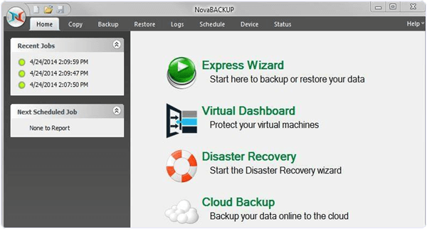 Nova BACKUP Professional 17.5 PC Software