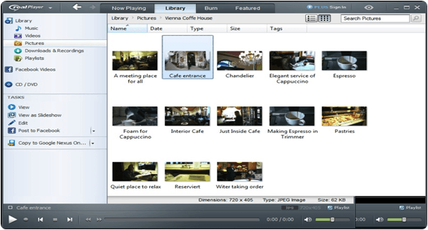 RealPlayer PC Software