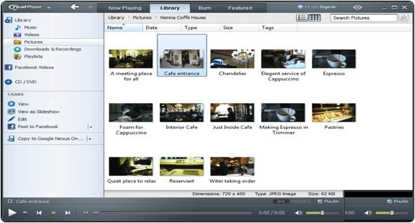 RealPlayer PC Software