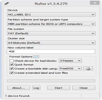 Rufus PC Software