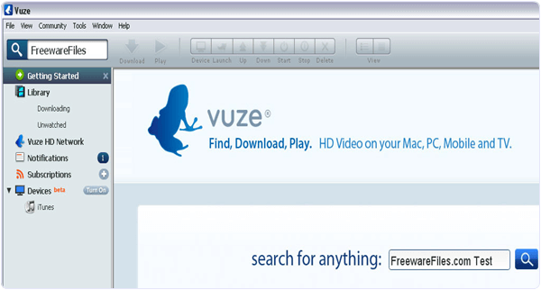 Vuze PC Software