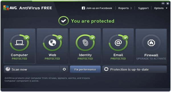 AVG Antivirus 2016 PC software