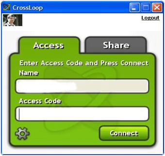 CrossLoop PC Software