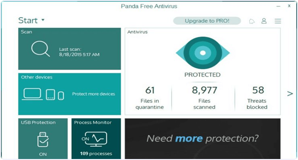 Panda Free Antivirus 2016 PC Software
