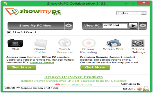 Showmypc PC Software