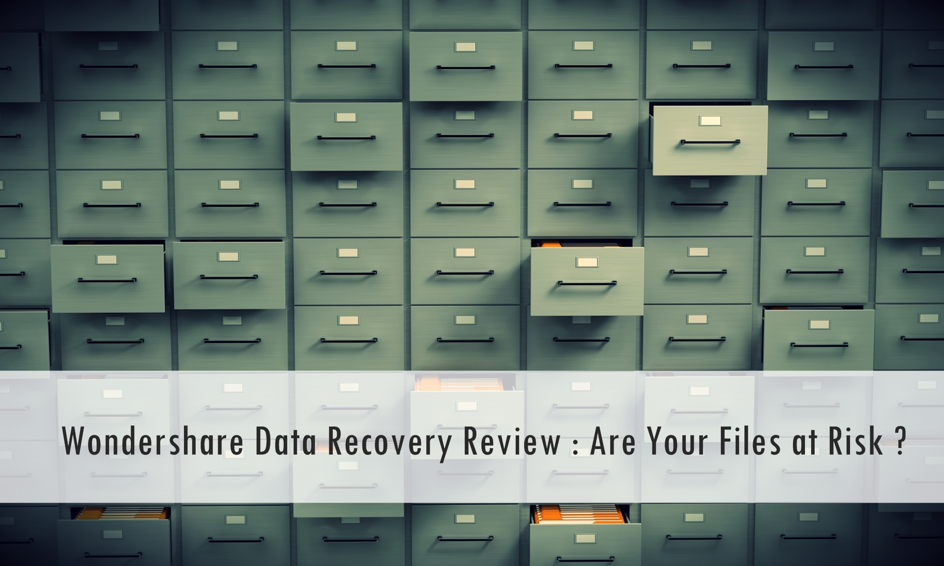 data recovery review
