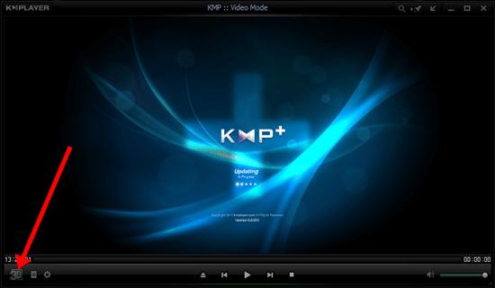 KM Player UI