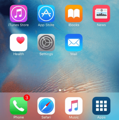 app drawer iphone