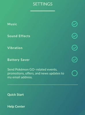battery saver pokemon go
